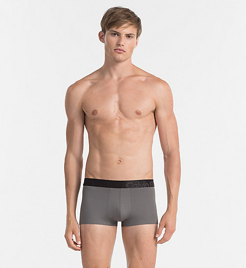 CALVINKLEIN Low Rise Trunks - Edge - GREY SKY - CALVIN KLEIN UNDERWEAR - main image