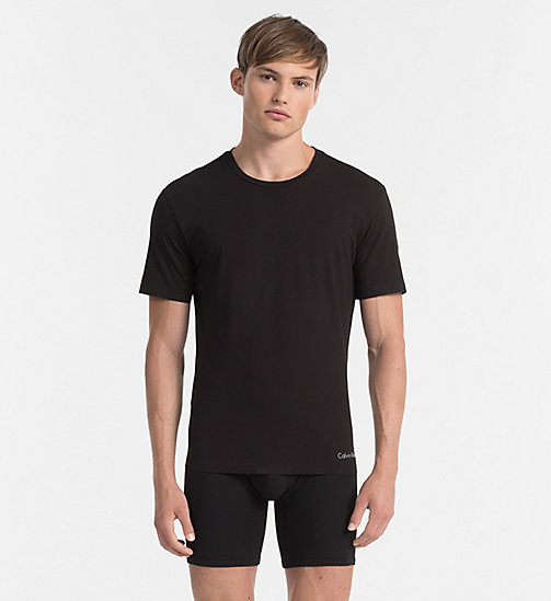 CALVIN KLEIN T-shirt - Edge - BLACK - CALVIN KLEIN LOUNGE TOPS - main image