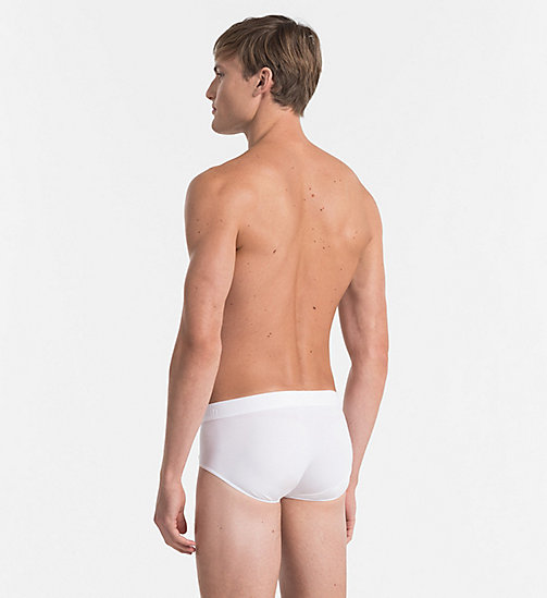 CALVINKLEIN Hip Briefs - Infinite - WHITE - CALVIN KLEIN MEN - detail image 1