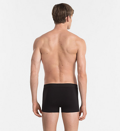 CALVIN KLEIN Trunks - Infinite - BLACK - CALVIN KLEIN UNDERWEAR - detail image 1