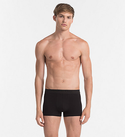 CALVINKLEIN Trunks - Infinite - BLACK - CALVIN KLEIN UNDERWEAR - main image