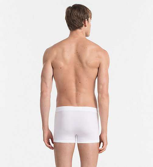 CALVIN KLEIN Trunks - Infinite - WHITE - CALVIN KLEIN UNDERWEAR - detail image 1
