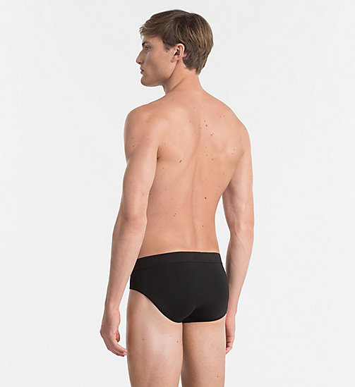 CALVINKLEIN Hip Briefs - Infinite - BLACK - CALVIN KLEIN BRIEFS - detail image 1