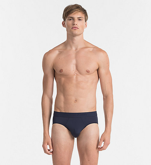 CALVINKLEIN Hip Briefs - Infinite - BLUE SHADOW - CALVIN KLEIN BRIEFS - main image