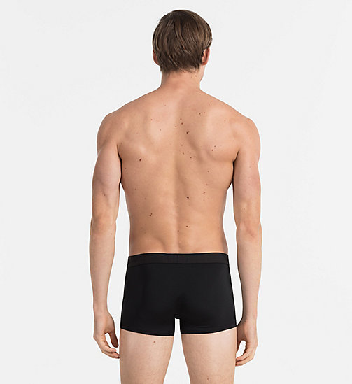 CALVINKLEIN Low Rise Trunks - Infinite - BLACK - CALVIN KLEIN MEN - detail image 1