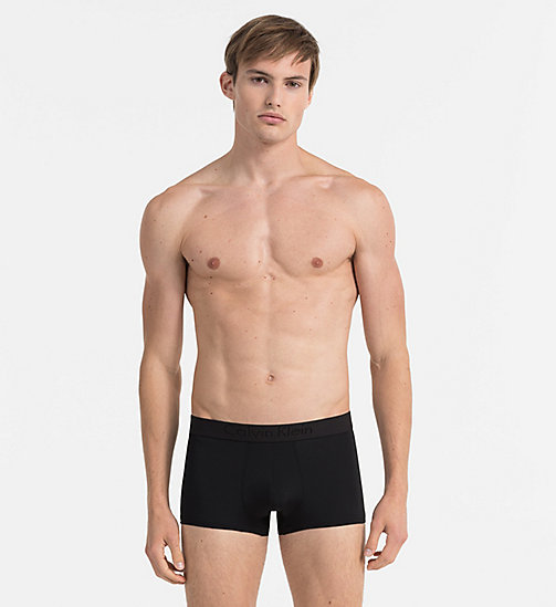 CALVINKLEIN Low Rise Trunks - Infinite - BLACK - CALVIN KLEIN TRUNKS - main image