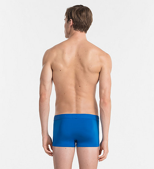CALVINKLEIN Low Rise Trunks - Infinite - SUMMER BLUE - CALVIN KLEIN Bright Colours - detail image 1