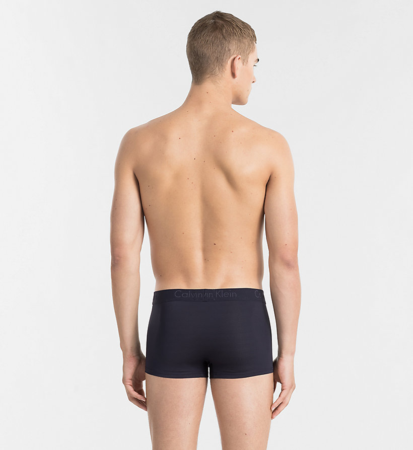 CALVINKLEIN Low Rise Trunks - Infinite - BLACK - CALVIN KLEIN UNDERWEAR - detail image 1