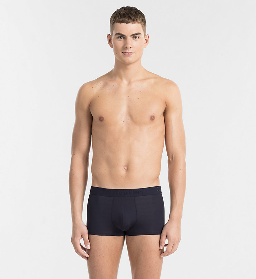 CALVINKLEIN Low Rise Trunks - Infinite - BLACK - CALVIN KLEIN UNDERWEAR - main image