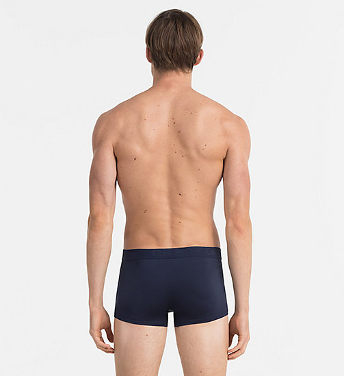 CALVINKLEIN Low Rise Trunks - Infinite - BLUE SHADOW - CALVIN KLEIN MEN - detail image 1