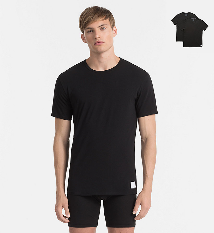 2 pack t shirts calvin klein id calvin klein. Black Bedroom Furniture Sets. Home Design Ideas