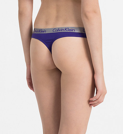 CALVINKLEIN Thong - Radiant Cotton - PERCEPTION - CALVIN KLEIN KNICKERS - detail image 1