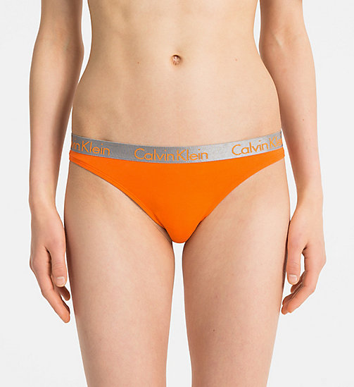 CALVIN KLEIN Thong - Radiant Cotton - DEVIOUS - CALVIN KLEIN NEW FOR WOMEN - main image