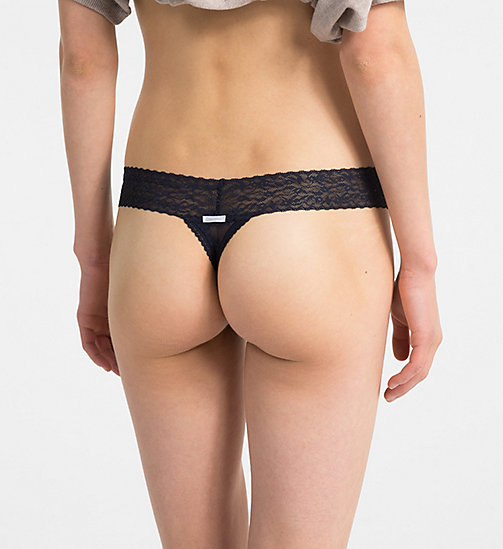 CALVINKLEIN Thong - Bare Lace - SHORELINE - CALVIN KLEIN NEW FOR WOMEN - detail image 1