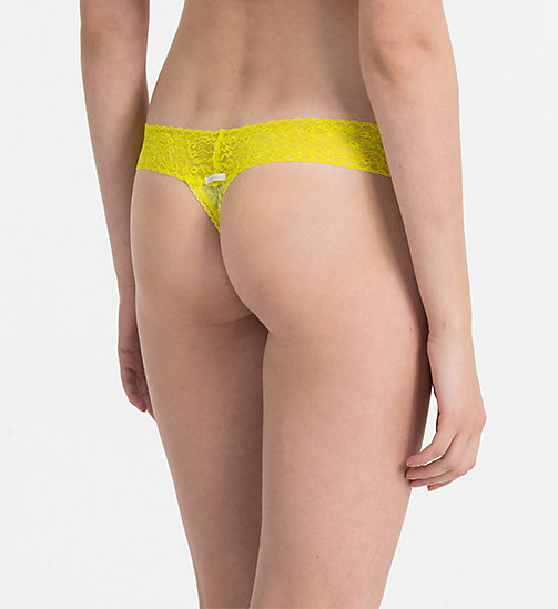 CALVINKLEIN Thong - Bare Lace - SUNGLOW - CALVIN KLEIN THONGS - detail image 1