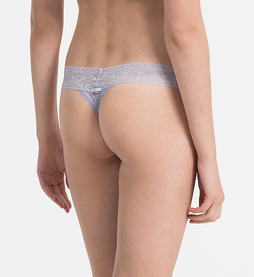 CALVINKLEIN Thong - Bare Lace - BLISS - CALVIN KLEIN THONGS - detail image 1