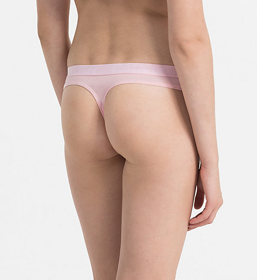 CALVINKLEIN Thong - Ultimate - ATTRACT - CALVIN KLEIN THONGS - detail image 1