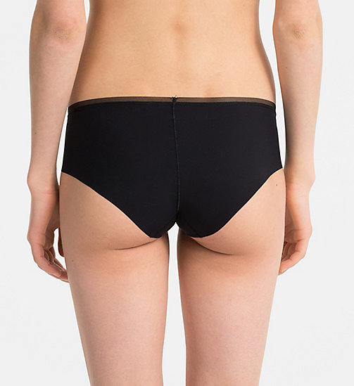 CALVINKLEIN Shorty - Invisibles - BLACK - CALVIN KLEIN SHORTYS - image détaillée 1