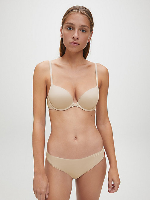 CALVINKLEIN Push-Up Bra - Perfectly Fit - BARE - CALVIN KLEIN BRAS - detail image 1