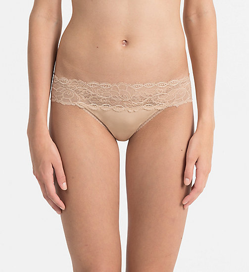CALVINKLEIN Thong - Seductive Comfort - BARE - CALVIN KLEIN KNICKERS - main image