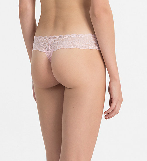 CALVINKLEIN Thong - Seductive Comfort - ATTRACT - CALVIN KLEIN THONGS - detail image 1