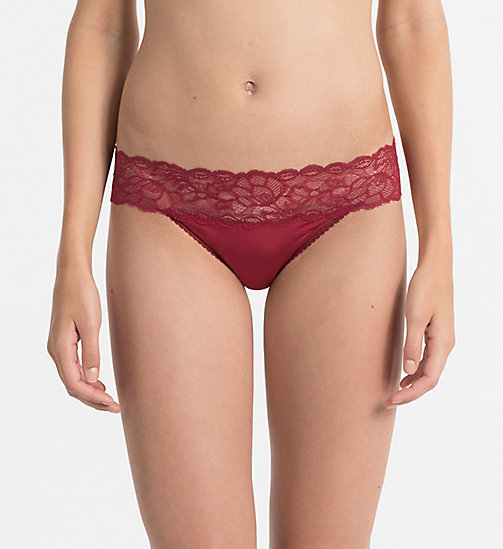 CALVINKLEIN Thong - Seductive Comfort - INTOXICATE - CALVIN KLEIN KNICKERS - main image
