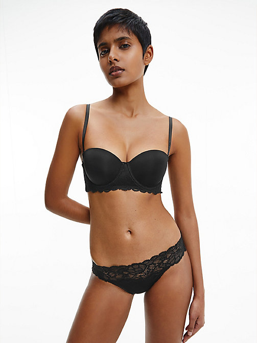 CALVINKLEIN Slip - Seductive Comfort - BLACK -  BASIC-SETS - main image 1