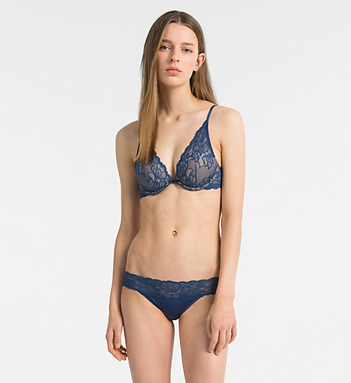 CALVIN KLEIN Bikini Brief - Seductive Comfort - LYRIA BLUE - CALVIN KLEIN SHOP BY SET - detail image 1