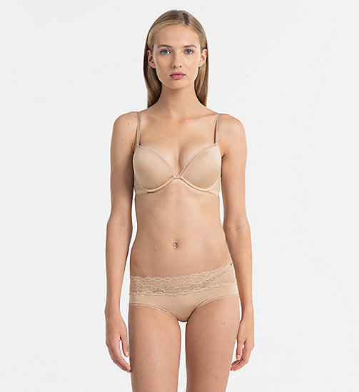 CALVIN KLEIN Push-Up Bra - Seductive Comfort - BARE - CALVIN KLEIN ESSENTIAL SETS - detail image 1