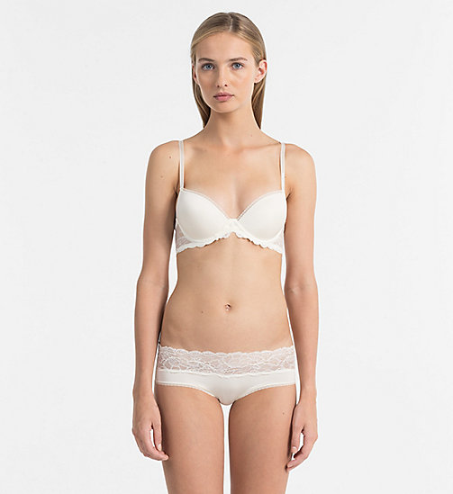 CALVIN KLEIN Hipsters - Seductive Comfort - IVORY - CALVIN KLEIN KNICKERS - detail image 1