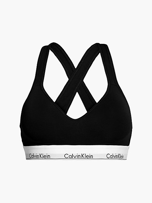 CALVIN KLEIN Bralette - Modern Cotton - BLACK - CALVIN KLEIN SHOP BY SET - main image