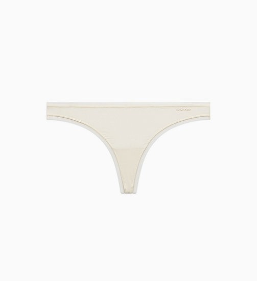 CALVIN KLEIN String - Sculpted - IVORY - CALVIN KLEIN ESSENTIAL SETS - main image