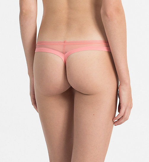 CALVINKLEIN Thong - Sculpted - BRIGHT QUARTZ - CALVIN KLEIN UNDERWEAR - detail image 1