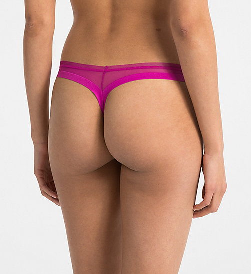 CALVINKLEIN Thong - Sculpted - BOWIE - CALVIN KLEIN SHOP BY SET - detail image 1