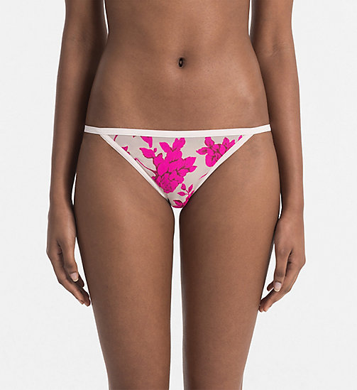 CALVINKLEIN Bikini - Sheer Marquisette - DARLING ROSES - CALVIN KLEIN SHOP BY SET - main image
