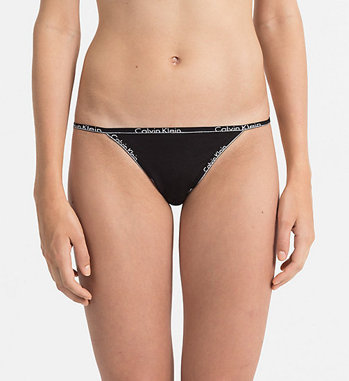 CALVIN KLEIN Thong - Calvin Klein ID - BLACK - CALVIN KLEIN SHOP BY SET - main image
