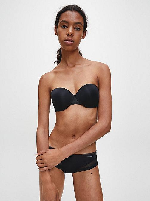 CALVIN KLEIN Strapless Bra - Sculpted - BLACK - CALVIN KLEIN ESSENTIAL SETS - detail image 1