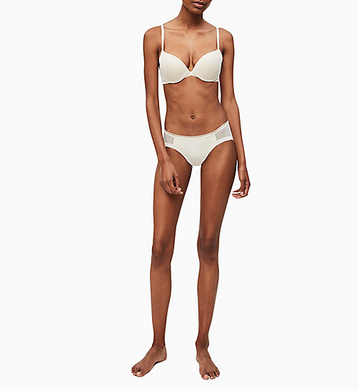 CALVINKLEIN Push-up Plunge-BH - Sculpted - IVORY - CALVIN KLEIN BASIC-SETS - main image 1