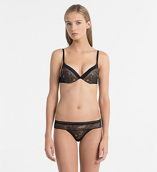 CALVINKLEIN Soutien-gorge pigeonnant push-up - CK Black - BLACK - CALVIN KLEIN SOUTIENS-GORGE - image détaillée 1