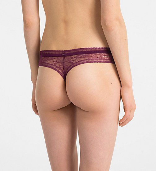 CALVINKLEIN String - CK Black Obsess - BRIGHT PLUM - CALVIN KLEIN SHOP PER SET - detail image 1