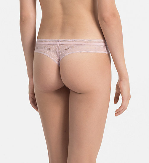 CALVINKLEIN Thong - CK Black Obsess - CONNECTED - CALVIN KLEIN KNICKERS - detail image 1