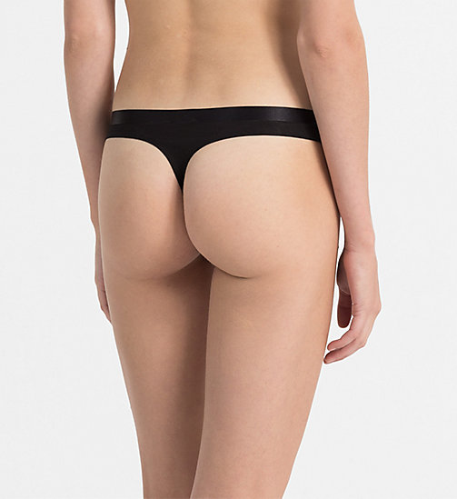 CALVINKLEIN Thong - CK Black - BLACK - CALVIN KLEIN SHOP BY SET - detail image 1