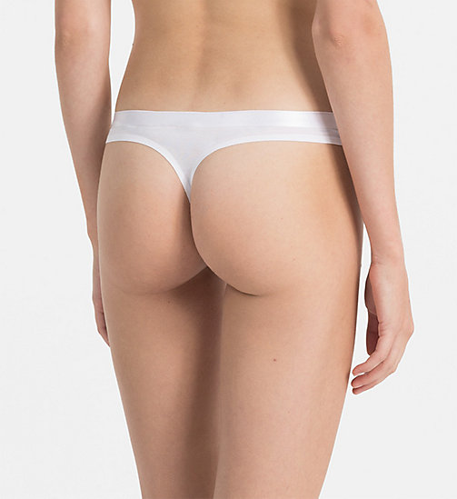 CALVINKLEIN Thong - CK Black - WHITE - CALVIN KLEIN SHOP BY SET - detail image 1