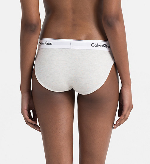 CALVINKLEIN Slip - Modern Cotton - SNOW HEATHER_NEON NEPS - CALVIN KLEIN SHOP BY SET - main image 1