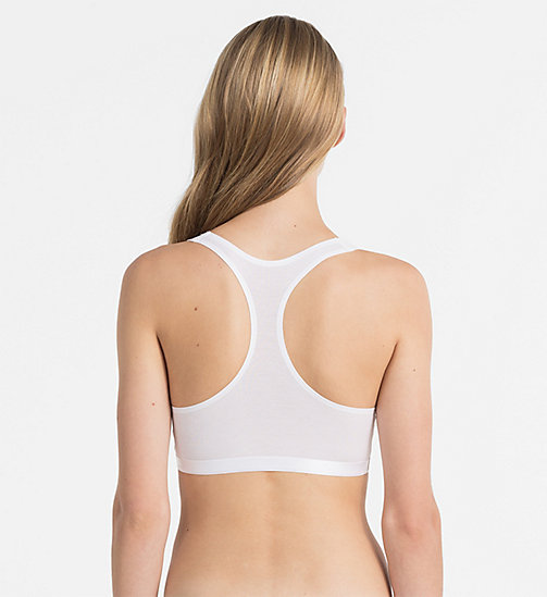 CALVINKLEIN Bralette - CK Black - WHITE - CALVIN KLEIN SHOP BY SET - detail image 1