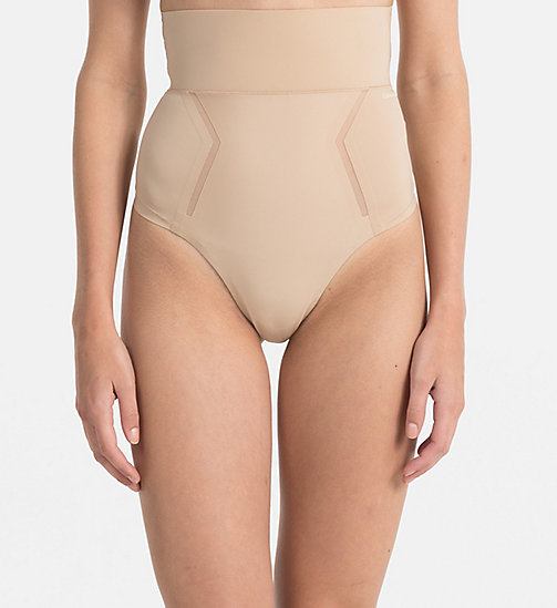 CALVINKLEIN String High Waist - Sculpted - BARE - CALVIN KLEIN BASIC-SETS - main image
