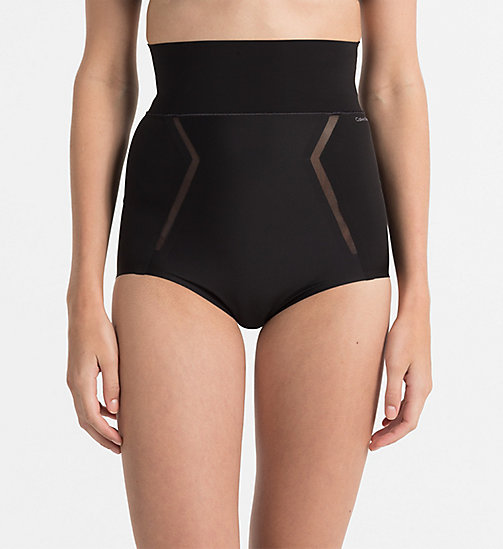 CALVINKLEIN High Waisted Hipsters - Sculpted - BLACK - CALVIN KLEIN BIKINI BRIEFS - main image