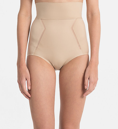 CALVINKLEIN High Waisted Hipsters - Sculpted - BARE - CALVIN KLEIN BIKINI BRIEFS - main image