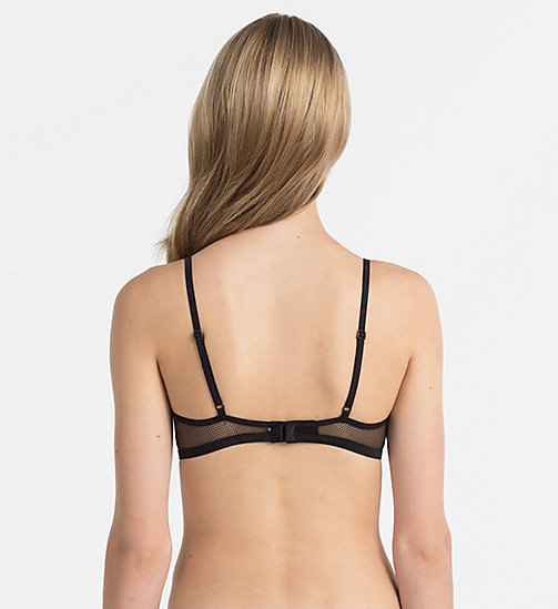 CALVINKLEIN Triangel BH - Youthful Lingerie - BLACK -  CADEAUS - detail image 1