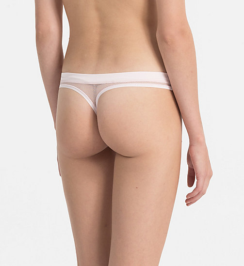 CALVINKLEIN Thong - Youthful Lingerie - NYMPHS THIGH - CALVIN KLEIN Youthful Lingerie - detail image 1